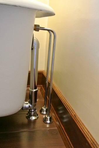 Period tub, proper plumbing