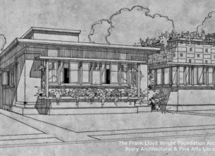 Image Courtesy: The Frank Lloyd Wright Foundation Archives (The Museum of Modern Art | Avery Architectural & Fine Arts Library, Columbia University, New York).